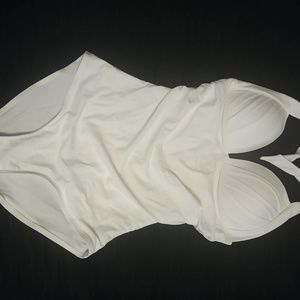 Other - White halter bathing suit